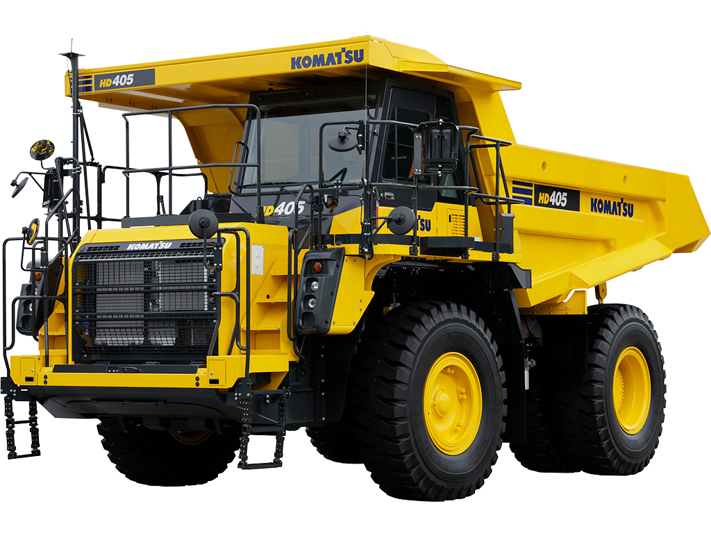 Komatsu HD405-8 MECHANICAL TRUCKS