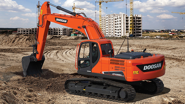 DOOSAN DX220LCA-2 Heavy Excavators