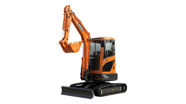 DOOSAN DX35Z Mini Excavators