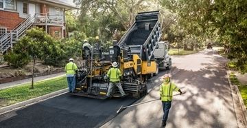Volvo CE launches new 8-foot asphalt pavers in North America