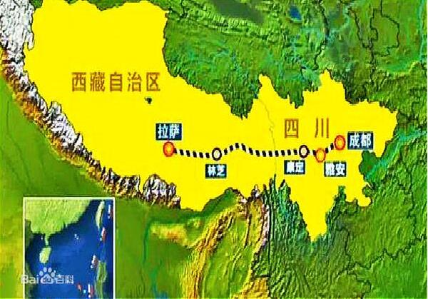 Most difficult in history: sichuan-tibet railway will be promoted in 2020