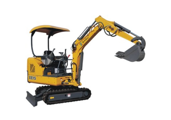 XE15 Small hydraulic excavator