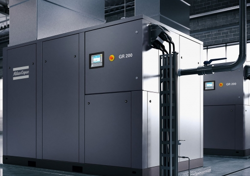 Atlas Copco GR two-stage rotary screw air compressor Oil-free air blowers
