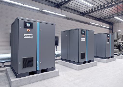 Atlas Copco ZS (VSD+) 无油螺杆式鼓风机 QAS Air treatment equipment