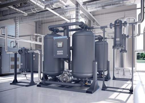 Atlas Copco Desiccant air dryer range Marine Compressors