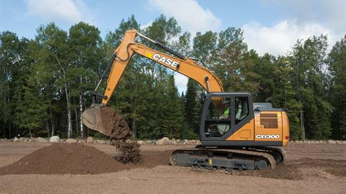 CASE CX130D FULL SIZE EXCAVATOR