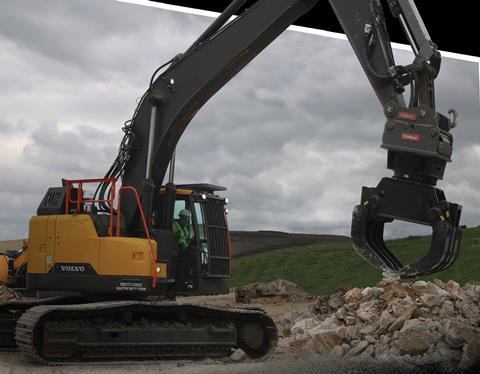 OilQuickUSA in quick coupler partnership with Volvo Construction Equipment and Services