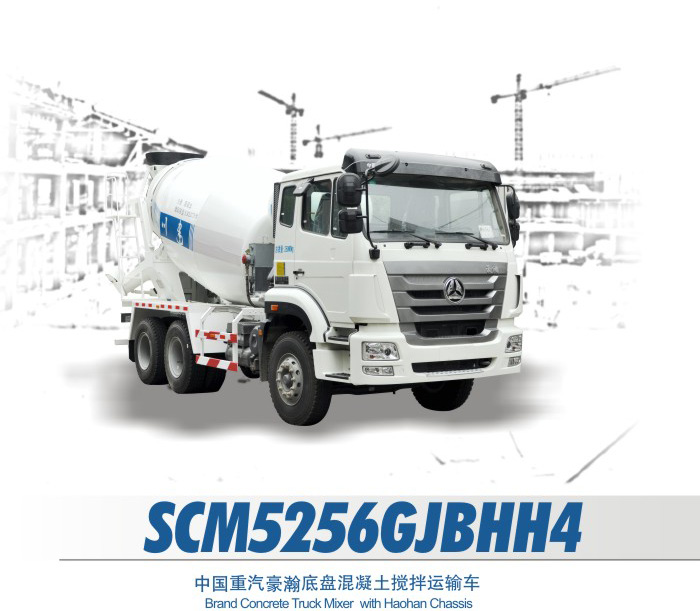 Sichuan Construction Machinary SCM5256GJBHH4 Concrete Truck Mixer